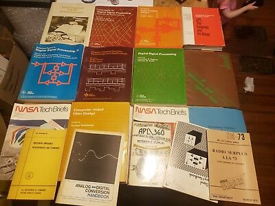 Lot of 16 vintage 1960s 70s computer/electrical engineering books IEEE Press
