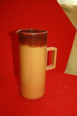 Vintage Pottery pitcher Simple and Beautiful.-unsigned. Rustic design.