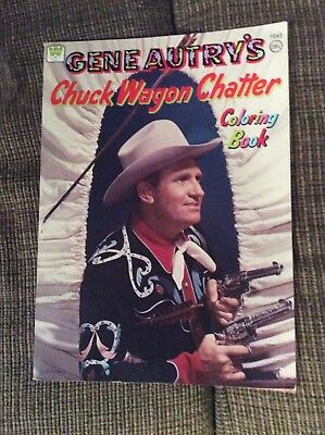 GENE AUTRY COLORING BOOK...39 cent cover price