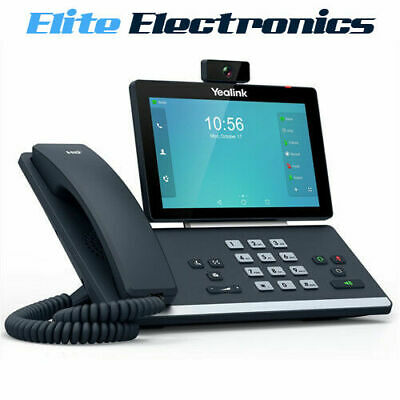 """Yealink T58V 7"""" Bluetooth Wifi 16 Line Ip Hd Android Video Phone"""