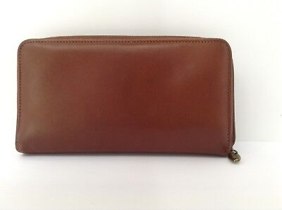 Longaberger Country Estates leather Wallet - excellent condition