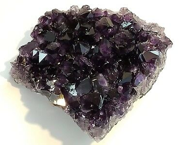 4 Lb 2 Oz Natural Top Quality Uruguayan Amethyst Deep Dark Purple Gemstone Chunk