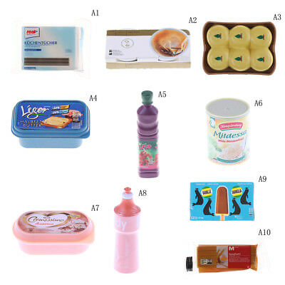 1:6 Dollhouse Miniature Doll Food Supermarket Supplies Accessories Toy