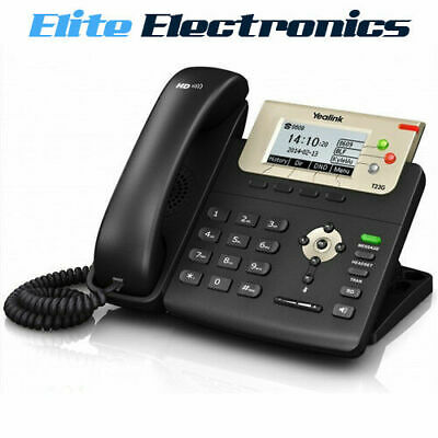Yealink T23G Lcd Screen Hd Voice Sip 3 Line Ip Phone Poe Hdv