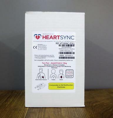 Custodia of 10 Zoll HeartSync Adult Multifunction Electrode Pads M E R Series