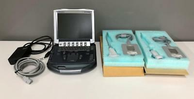 SonoSite M-Turbo Portable Ultrasound System With P21x L38x and Dock