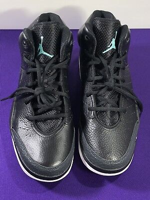 fe193a5ab2f Nike Air Jordan Flight Tradition Black Turquoise-Anthracite 819472-004 Size  8.5