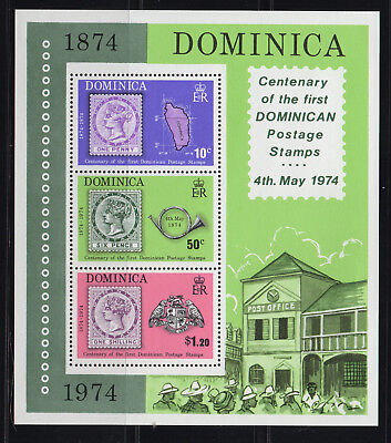 Dominica - Centenary Postage Stamps - MNH Minisheet