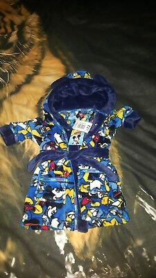 Boys Dressing Gown 6-9 Months Brand New