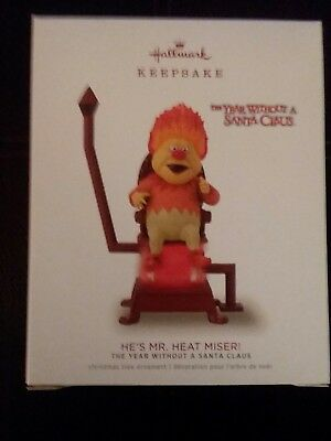 Hallmark 2018 Keepsake Orn. He's Mr. Heat Miser. The Year Without a Santa Claus