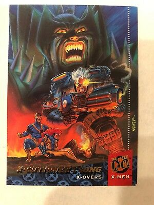 1994 Fleer Ultra X-Men X-Overs 107  X-cutioners Song RARE