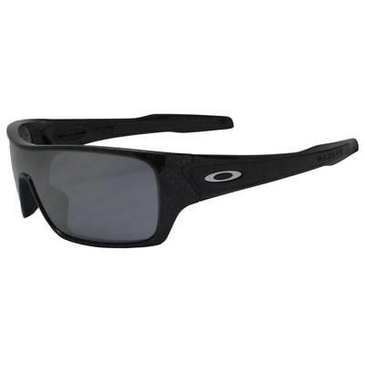 a4afb142da Oakley OO 9307-02 TURBINE ROTOR Black Silver Ghost Text Iridium Mens  Sunglasses