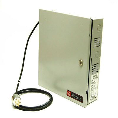 Altronix AL600ULX Power Supply/Charger 12 or 24 VDC 6 Amp w/ Enclosure
