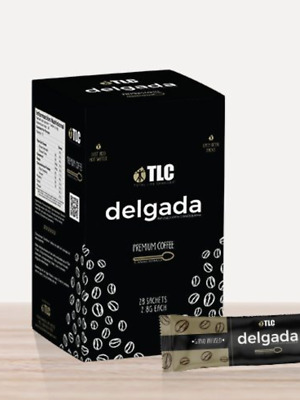 Iaso Cafe Delgada COFFEE - Instant -  TLC Diet Weight Loss - Christmas SALE