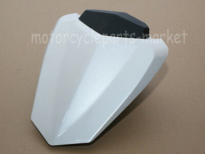 Rear Pearl White Pillion Cowl Cover Passenger Seat for Yamaha YZF R1 2009-2014