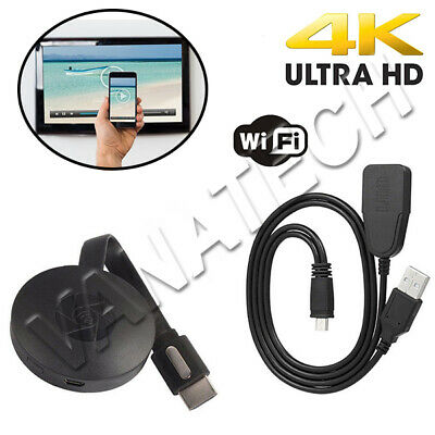 Chromecast  Tv Video Hdmi Streaming Video Wireless 4K Smart View G2 Wifi Tv