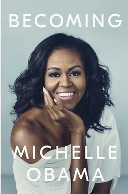 Becoming by Michelle Obama Hancover New - Free Ship