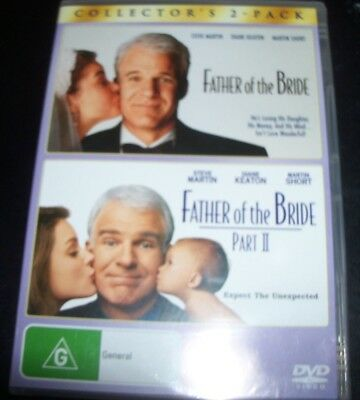 Father Of The Bride Part I & II (Movie 1 & 2) (Australia Reg 4) DVD – Like New