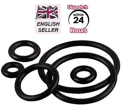 Common METRIC Size O-Ring NITRILE Buna-N Rubber. When only 1 x ORing needed (M-)