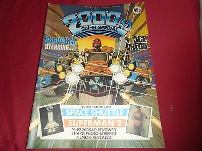 2000 AD SCI-FI SPECIAL 1981 Summer Holiday Judge Dredd Excellent