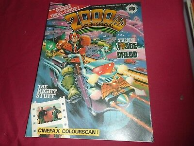 2000 AD SCI-FI SPECIAL 1984 Summer Holiday Judge Dredd Excellant