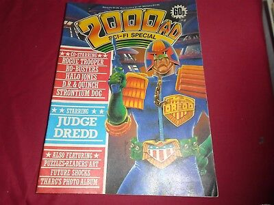2000 AD SCI-FI SPECIAL 1985 Alan Moore D.R. and Quinch Dredd Excellant