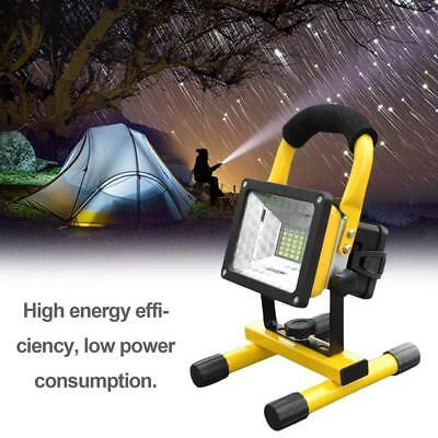 50W 36LED Portable T6 LED Rechargeable Flood Light Spot USB Lamp Charger FZ