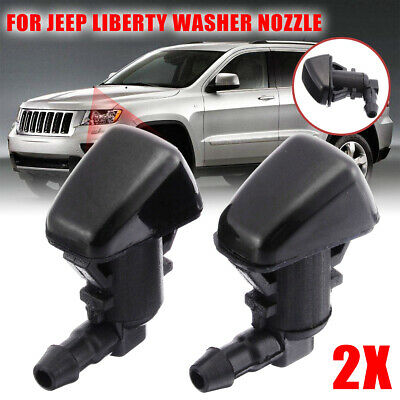 For Dodge Nitro Jeep Liberty Commander Windshield Washer Nozzle Jet Spray Kit