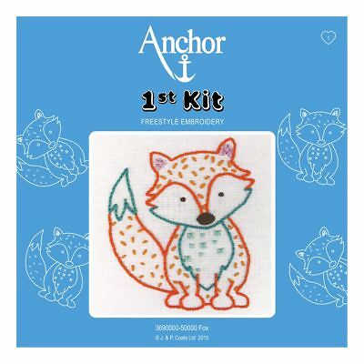 ANCHOR   Embroidery 1st Kit: Fox - Beginners   369000050000