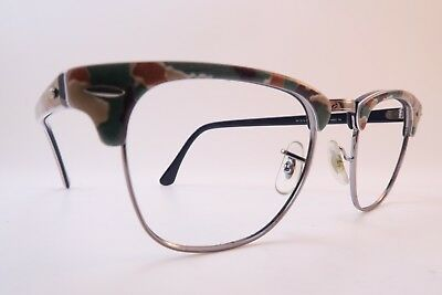 Vintage Ray Ban eyeglasses frames Mod RB 3016 CLUBMASTER 49-21 made in Italy