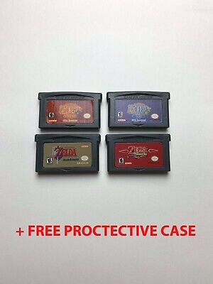 Zelda Four Swords / The Minish Cap / Ages / Seasons for Gameboy Advance SP