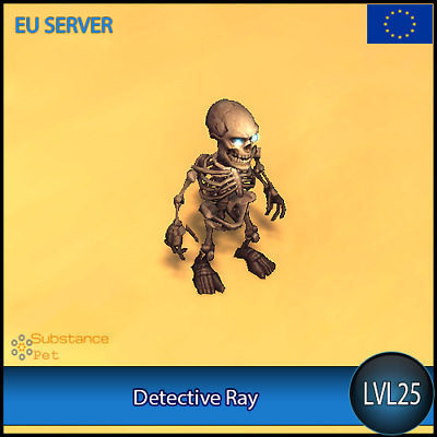 Detective Ray lvl25 Pet BFA | All Europe Server | WoW Warcraft Loot Tier