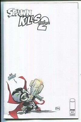 Spawn Kills Everyone Too #1 Blank Variant Cover - Image Comics/2018