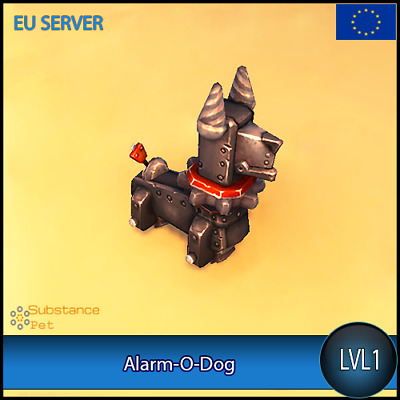 Alarm-O-Dog lvl1 Pet BFA | All Europe Server | WoW Warcraft Loot Tier