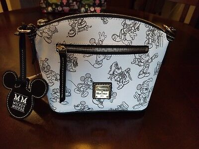 NEW DISNEY DOONEY & BOURKE CROSSBODY BAG MICKEY MOUSE 90th BIRTHDAY **SOLD OUT**