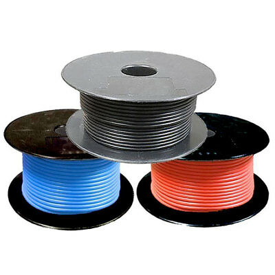 Single Core 0.5mm 1mm 1.5mm 2.5mm 12v Thinwall Automotive Auto Marine Cable Wire
