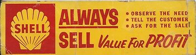 Vintage Shell Gasoline Booklet of Oil Change Stickers! Service Filling Station!