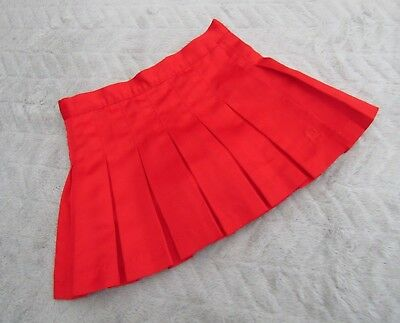 Girls Red Paneled Skirt with Shorts Skort (4T, 3-4 Years) - By Tommy Hilfiger