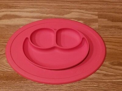 EZPZ Coral Mini Mat [One Piece Silicone Placement and Plate, One Size EUC]