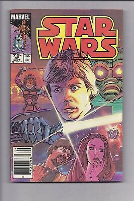 High Grade Canadian Newsstand Edition Star Wars #87 $0.75 price variant