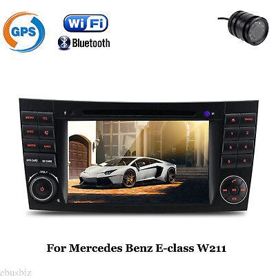 Android 7.1 DVD Player GPS Stereo GPS Wifi Radio BT For Mercedes Benz W211 W209