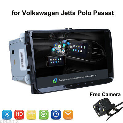 Android 8.1 Stereo Player GPS WiFi BT RDS Radio for Volkswagen Jetta Polo Passat
