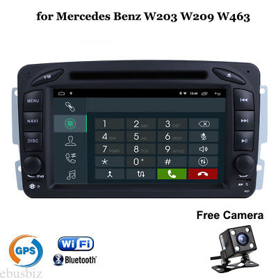 Android 7.1 Car Stereo DVD GPS Player Witi USB SWC Video for Mercedes Benz W209