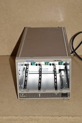 Textronix Tm5003 3-Slot Power Mainframe Chassis