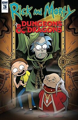 RICK AND MORTY VS DUNGEONS AND DRAGONS (2018) #3 - New Bagged