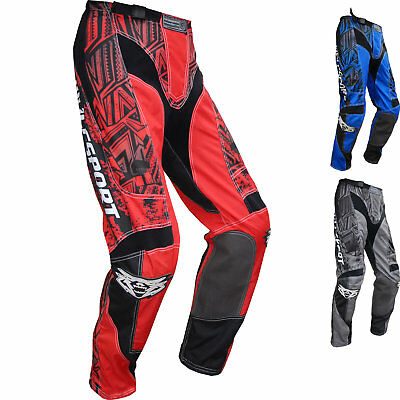 Wulf Aztec Adult Motocross Pants MX Enduro Off Road Trousers Quad GhostBikes