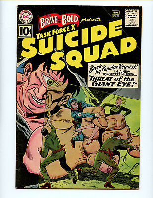 Brave and the Bold 37 2nd tryout series Cyclops nice solid copy