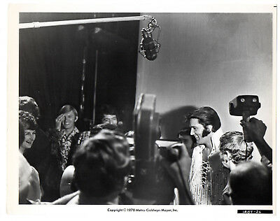 "Vintage Elvis Presley Original 8x10 Movie Still 1970 ""Elvis"" 1889-26 Info onback"