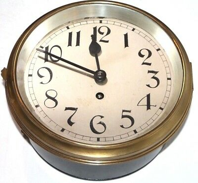 Antique Large Rare 8 Day Lenzkirch Marine / Ship / Gallery Wall Clock. Cir. 1895