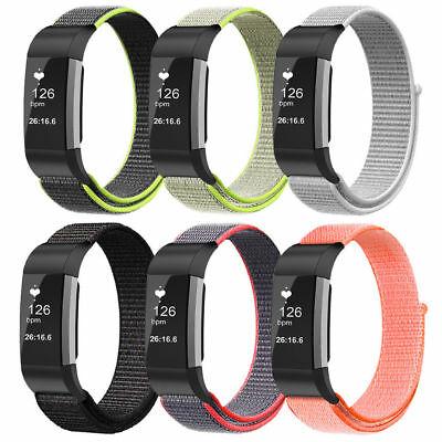 For Fitbit Charge 2 Smart Watch Wristband Wrist Band Nylon Strap Replacement